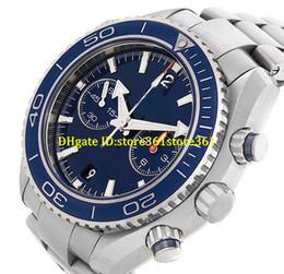 Relógios de mergulho oceânicos do planeta on-line-Store361 chegam novos relógios NOVO EM CAIXA PLANETA MAR SEPARADOR DE OCEANO CO-AXIAL EM AÇO INOXIDÁVEL MENS RELÓGIO DA DATA AUTOMÁTICO DIAL AZUL MOVIMENTO DOS HOMENS WR