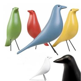Wholesale Birds Models - 2018 Creative Dove Model Crafts, Black and White Nordic Style Big Bird Decoration, Room Office Decoration Equipment