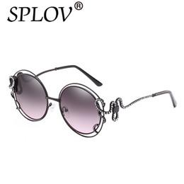 aed87bcc63 SPLOV Big Frame Round Diamond Sunglasses Women Double Circle Hollow  Irregular Sun glasses Oversized Luxruy Oculos De Sol UV400