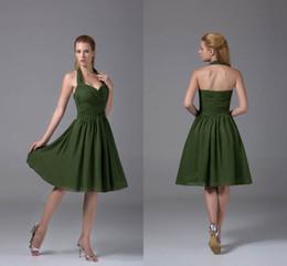 Vestidos verdes cortos de fiesta