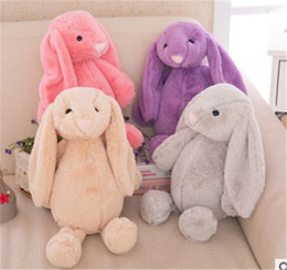 Wholesale Baby Bear Sleeping - Baby Toys Cute Rabbit Sleeping Comfort Stuffed Doll Cartoon Bunny Teddy bear Plush Animals Hot Toys For Baby Gifts z117