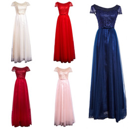 Wholesale Modern Junior Bridesmaid Dresses - Real Picture Arabic Dresses Formal Evening 2018 Jewel Beaded Short Sleeve A Line Africa Prom Party Gown Junior Bridesmaid Wear vestidos