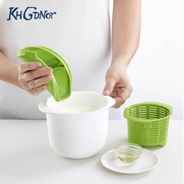Wholesale Silicone Accessories For Kitchen - Useful Microwave Cheese Maker Kitchen Plastic Silicone Healthy For Making Cheese Home Cooking Cheese Accessories