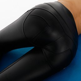 sex leggings Promo Codes - AK's hand high quality legging store high waisted leather leggings women shapewear sex pu leggings in stock forever