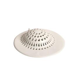 Wholesale Rubber Sink - bathroom Gravity Flushing Shower Drain Hair Catcher Bathtub Floor Sink Strainer Filter Cover Rubber Trap Outfall Plug NetZI-475