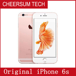 Wholesale Original Apple Accessories Wholesale - Refurbished Original Unlocked Iphone 6s Mobile phone 4G LTE 4.7 inches IOS 2GB RAM 16GB 64GB 128GB ROM Without Fingerprint 3pcs free DHL