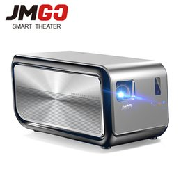 Wholesale Led Tv Projectors - JMGO J6S, Full HD Android Projector, 1920x1080 Resolution, 1100 ANSI Lumen, Set in WIFI, HIFI Bluetooth Speaker, HDMI, 4K LED TV
