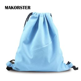 Wholesale Phone Carriers - Wholesale- Summer Fresh Style women Backpacks Canvas drawstring bag backpacks&carriers small backpack travel bag sac a dos femme New 2016