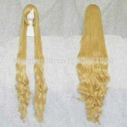 2019 pelucas rapunzel Peluca rubia mezclada de Rapunzel Custom Styled peluca estilo PP150cm pelucas rapunzel baratos