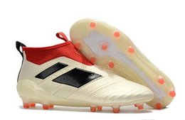 Wholesale Cheap Winter Boots Online - HOT Discount Cheap Ace17+ Purecontrol FG AG Ace 17 Cheap Online Hot-sell Soccer Shoes Football Sneakers Soccer Cleats Soccer Boots