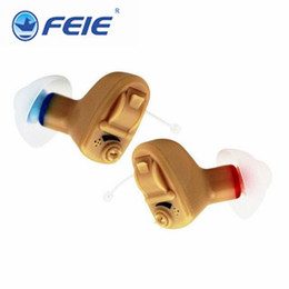Wholesale Earplug Silicone - Medical Ear Hearing Enhancers Invisible Ear S-9A Fast Shipping Free Headphone Sound Amplifier With Earplugs Silicone