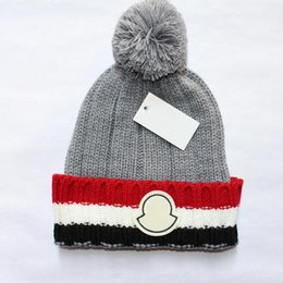 Wholesale Tie Dye Beanie - Autumn And Winter High quality wool hats European fashion designer caps travel hat Luxury brand cap Multiple colors available