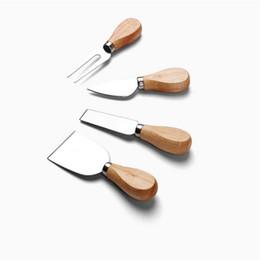 Argentina por DHL o EMS 50 sets 4 unids / set Cuchillos Bard Set Roble mango Queso Cuchillo Kit de Cocina Herramientas de Cocina Accesorios Útiles 20180920 # Suministro