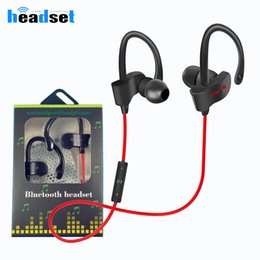 Wholesale universal bluetooth handsfree headset - New items 56S Wireless Bluetooth headphones Waterproof IPX5 Headphone Sport Running Headset Stereo Bass Earbuds Handsfree With Mic