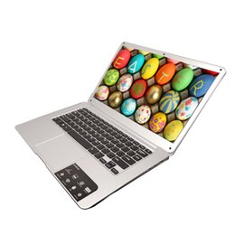 Wholesale Ultrabook 14 Inch - 2017 NEW 14 inch laptop Free Shipping, high quality ultrabook 4GB 64G with Windows 10, 8000mah, Notebook offer free mouse gifts