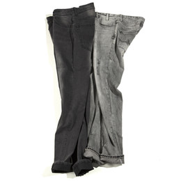 Wholesale Fly America - Men's Europe and America Retro Old RIFF ROCK Jeans Men's British Style 100% Cotton Micro Stretch Fashion Comfort Straight Jeans