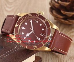 luxury watc 2018 - latest version 6 color watches 79200B KW DIVE watch 41.5mm Leather bracelet High quality Mechanical automatic Men's watc
