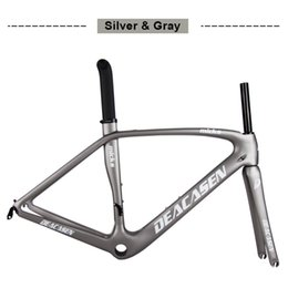 Wholesale Road Bike Decals - carbon road frame 1030+-40g toray carbon fiber BSA BB30 PF30 painting decal carbon road frame cycling bicycle racing frameset