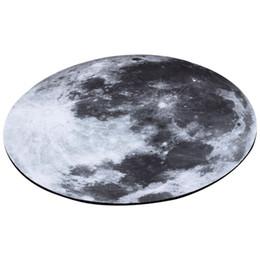 Computadoras grises online-Estera del cojín de ratón de la luz gris de la luna de 8 pulgadas 20cm para los accesorios de escritorio de la computadora portátil (gris)
