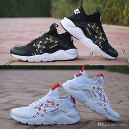 huaraches sneakers women Coupons - SUP 2018 Air Huarache 4.0 Classical White Black Men Women Huaraches Running Shoes Harache Trainers Sports Huraches Sneakers Size Eur 36-45