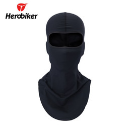 Wholesale full size helmet - HEROBIKER Breathable Balaclava Windproof Combat Hats Tactical Motorcycle Head Hood Military Helmet Full Face Mask , M-3030