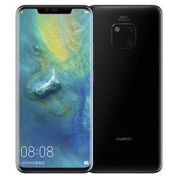 сотовые телефоны ip68 Скидка Оригинальный Huawei Mate 20 Pro 4G LTE мобильный телефон 8GB RAM 256GB ROM Kirin 980 Octa Core 40.0 MP 6.39 дюймовый полноэкранный IP68 OTG NFC сотовый телефон