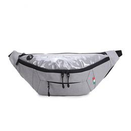 Tasche sportive per gli sport all'aria aperta pacchetto da viaggio in tessuto Oxford da viaggio da viaggio con auricolare aderente zaino multistrato da portamonete da