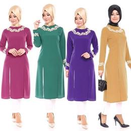 Canada Style saoudien malaisien en vrac Top Moyen-Orient musulman Abaya mode musulman chemisier vêtements islamiques femmes turques chemise de la Chine usine 22 # Offre