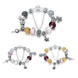 Bracelets de style pandora faits à la main en Ligne-Argent sterling 925 rêve pendentif personnalité fait main style pandora bracelets mode bijoux fabrication pour femmes cadeaux livraison gratuite PDRH005