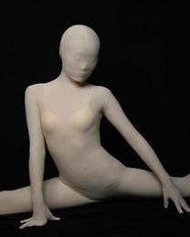 2020 полный косплей косплей косплей Cosplay Flesh Full Body Spandex/lycra Cotton Bodysuit Skin Zentai Suit Adult Size Cos Costume Fancy Dress скидка полный косплей косплей косплей