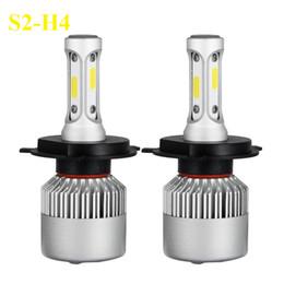 Canada H4 H7 H11 H1 H3 9005 9006 ampoule LED phare de voiture 12V Hi-Lo Faisceau 72W 8000LM 6500K phares de voiture auto phares supplier h4 led bulb hi lo Offre