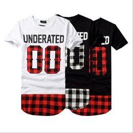 Wholesale t shirt bandana - Brand Designer - BRSR 2018 UNDERATED Bandana Men's Extended Tee Shirts Men Skateboard Element t-shirt Hip Hop tshirt Streetwear Clothing