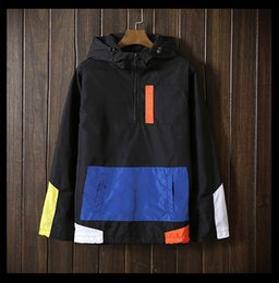 Wholesale Trend Coat For Men - New Trend Spring Autumn men Pullover Patchwork jacket coats for men's jaqueta Windbreaker fashion male tourism jackets Windproof