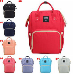 Wholesale Diaper Nappy Bag Backpack - Mommy Backpacks Brand Mom Nappies Bags Fashion Mother Backpack Diaper Maternity Backpacks Large Desinger Nursing Outdoor Travel Bags