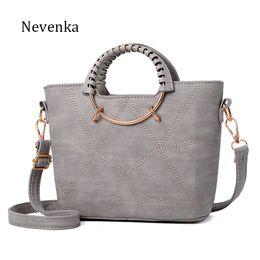 Nevenka Fashion Women Bag Brand Name Tote Pu Leather Handbags Casual  Crossbody Bag Ladies Style Evening Bags Zipper Fresh Sac 246146419651d