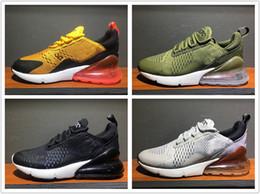 Wholesale eur size 46 - 2017 Original Mesh Knit 270 Men Women Flair 270 Running Shoes Cheap Sports Trainer Sneakers Size Eur 36-46