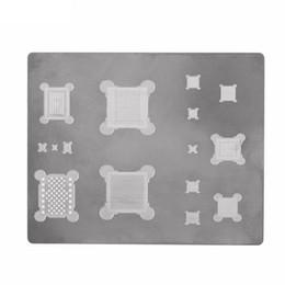 Bga palla reballing online-IC Chip Ball Saldatura Net 3D BGA Reballing Stencil per iPhone A8 A9 A10 A11 Scheda Logica Chip Chip Repair Tools