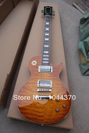 Wholesale Fire Maple - Wholesale - free shipping Custom Shop fire fingerboard wavy top electric guitar Factory sales free shipping