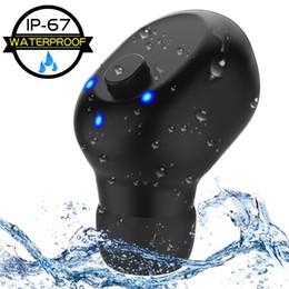 Скидка мини спортивные наушники Bluetooth беспроводные наушники-вкладыши V4.1 + EDR Наушники с зарядкой для контактов Беспроводные наушники Bluetooth от