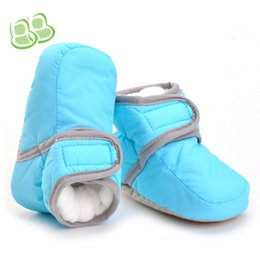 Wholesale infant boots for boys - Winter Warm Handsome Baby Boots For Girls and Boys Newborn First Walker Sweet Kids Booty Toddler Infant Baby Shoes Babe Booties