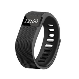 Wholesale Remote Telephone - New Hot TW64 Fitness Tracker Bluetooth Smartband Sport Bracelet Smart Band Wristband Pedometer For IOS & Android Telephones
