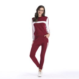 df02c250204 two piece set top and pants autumn winter knitted tracksuit women outfits  casual matching sets plus size clothing fall 5632