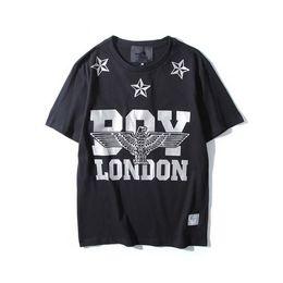 vestiti da ragazzo londra Sconti Tide shirt uomo estate 2018 estate nuova  T-shirt BOY f0a58202466
