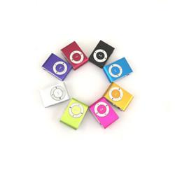 2019 alla moda nuovo top della moda di moda Nuovo Top VENDITA Moda Mini mp3 Clip USB Lettore MP3 Supporto schermo LCD 32GB Micro SD TF CardSlick design elegante Sport Compact 5 alla moda nuovo top della moda di moda economici