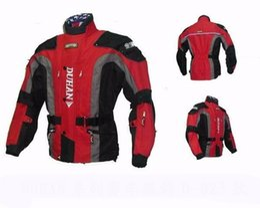 Wholesale Duhan Racing - DUHAN Men's Motor Oxford Jacket Racing Jacket Motocross jacket, long jacket with liner & 5pcs protector