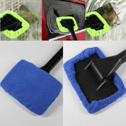 Wholesale vehicle cleaning brushes - New Cleaning Brushes Car Windshield Wiper Cleaning Towel Brush Vehicle Windshield Shine Care Dust Remover Auto Home Glass Cleaner WX9-610