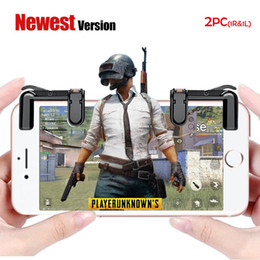 Wholesale Knife For Survival - Mobile Game Controller, Sensitive Shoot and Aim Buttons for PUBG Knives Out Rules of Survival, Cell Phone Game Controller for Android IOS