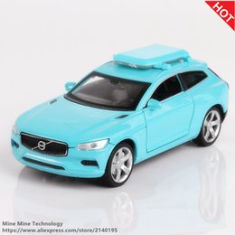 Wholesale Volvo Alloys - Double Horses 1:32 High Simulation Collection Toys Car Styling Volvo XC Coupe Model Alloy Car Model The Fast and the Furious