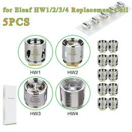 Wholesale head cylinders - HW coils HW1 Single Cylinder SS316L 0.2ohm Coil  HW2 Dual Cylinder Kanthal 0.3ohm Head for ELLO Mini ELLO Mini XL Atomizer