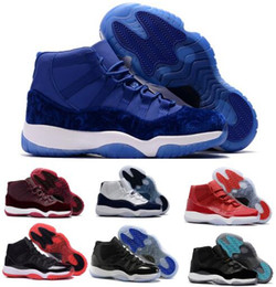Wholesale Gold Stretch - 11 Basketball Shoes Mens Women Gym Red Win Like 96 82 GS Bred Space Jam Heiress Velvet Chicago Concord 11s Athletic Shoe Sneakers